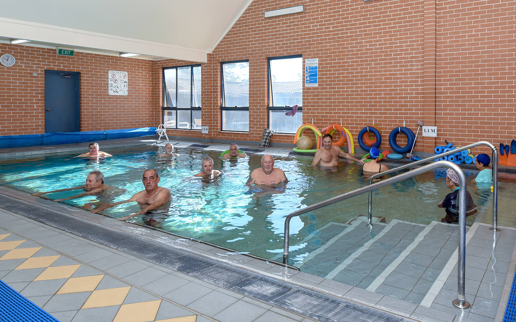 Hydrotherapy Rehabilitation Pool